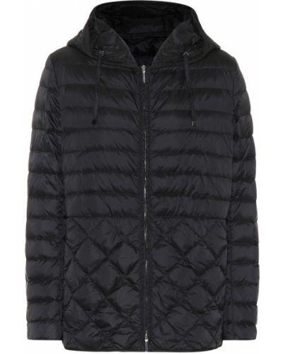 Облегченная черная дутая куртка 's Max Mara