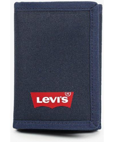 Текстильный синий кошелек Levi's®