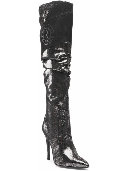 Kozaki skórzane - czarne Rage Age