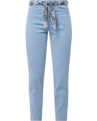 Niebieskie spodnie bawełniane Rosner