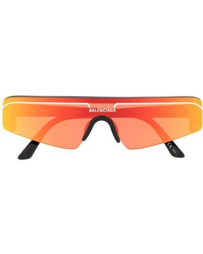 Желтые солнцезащитные очки Balenciaga Eyewear
