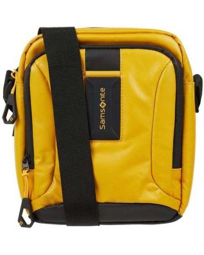 Nylon z paskiem żółty torba kosmetyczna z zamkiem błyskawicznym Samsonite