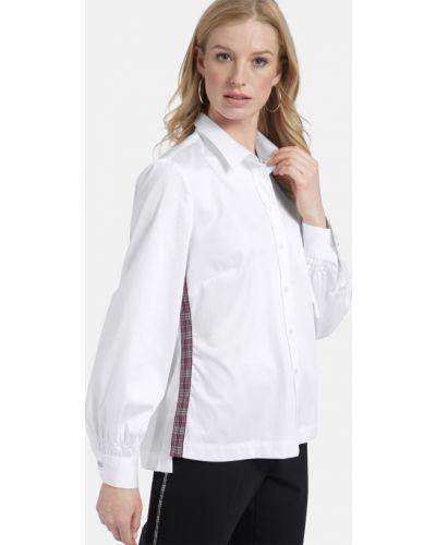 Хлопковая блузка - белая Basler