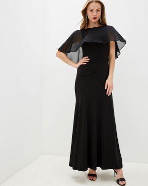 Черное вечернее платье Lauren Ralph Lauren