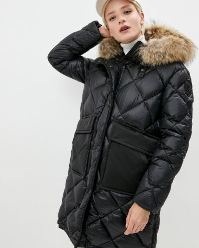 Черная зимняя куртка Blauer Usa