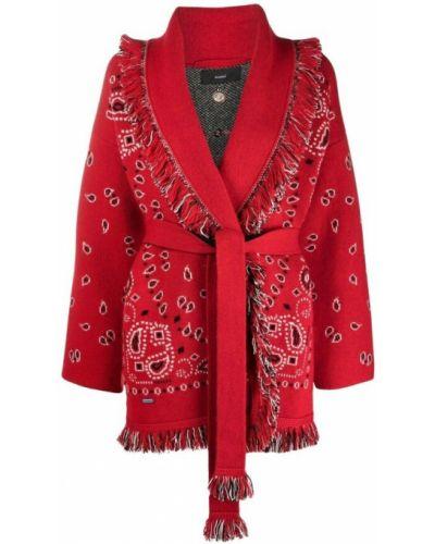 Czerwony sweter Alanui
