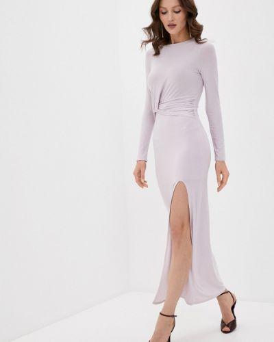 Прямое розовое платье Missguided