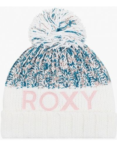 Белая шапка Roxy