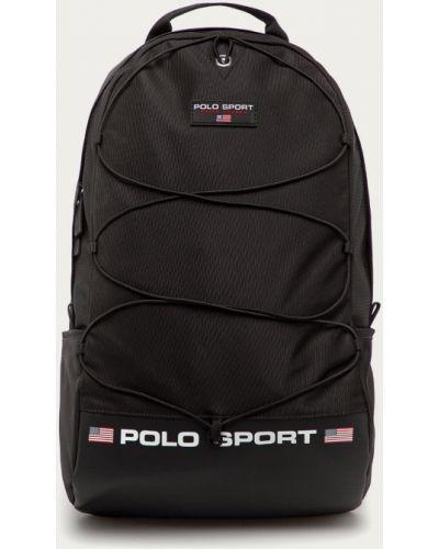 Czarny plecak Polo Ralph Lauren