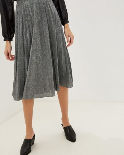 Плиссированная юбка итальянский серебряный Rinascimento