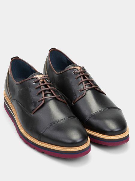 Кожаные туфли - черные Pikolinos