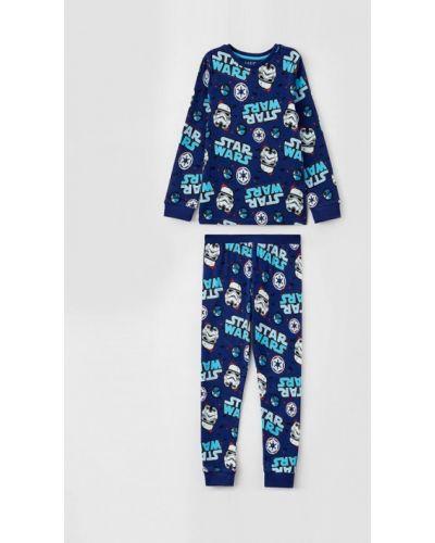 Синяя пижамная пижама Marks & Spencer