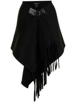 Czarna spódnica wełniana Barbara Bui