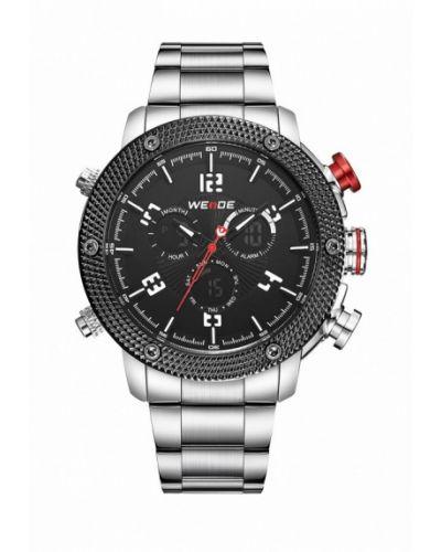 Часы серебряные серебряного цвета Weide