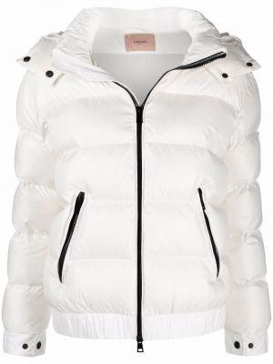Куртка с капюшоном - белая Twinset