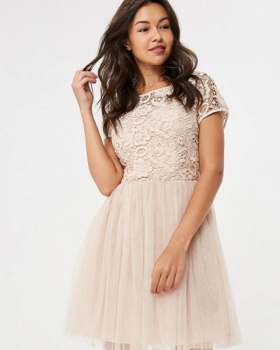 Асимметричное коктейльное платье Yumi