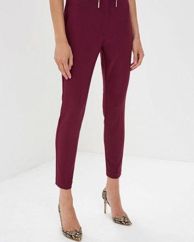 Фиолетовые брюки с завышенной талией Love Republic