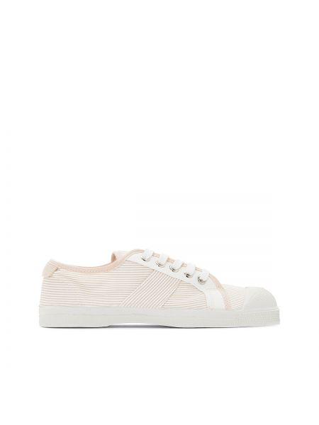 Бежевые кроссовки Bensimon