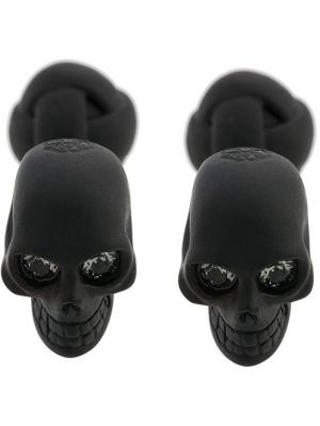 Запонки с черепами Alexander Mcqueen