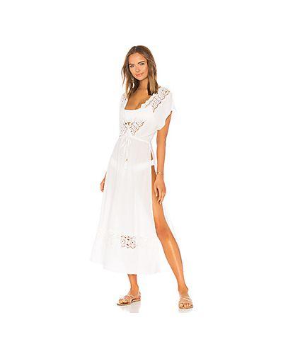 Платье с вышивкой из вискозы L*space