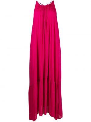 Открытое розовое платье с открытой спиной 8pm