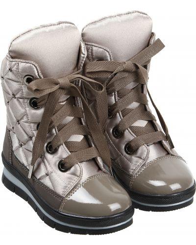 Текстильные бежевые ботинки Jog Dog
