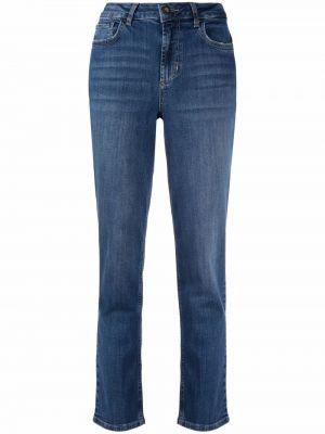 Прямые джинсы классические - синие Liu Jo