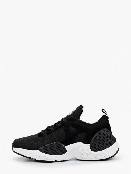 Текстильные черные кроссовки Strobbs