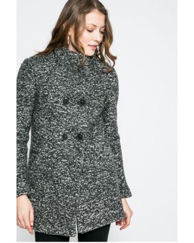 Серая утепленная куртка Only