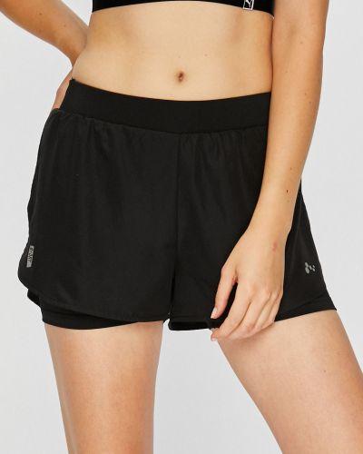 Спортивные шорты черные с подкладкой Only Play