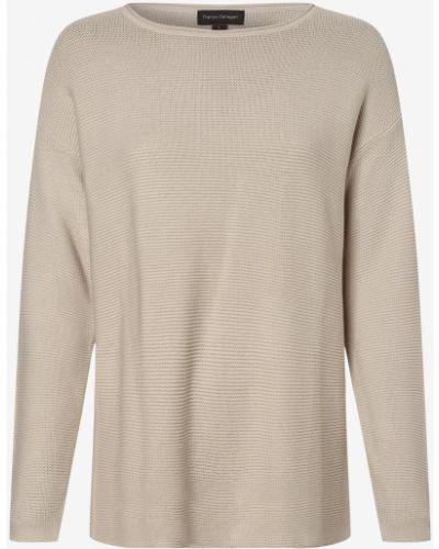 Beżowy sweter dzianinowy Franco Callegari