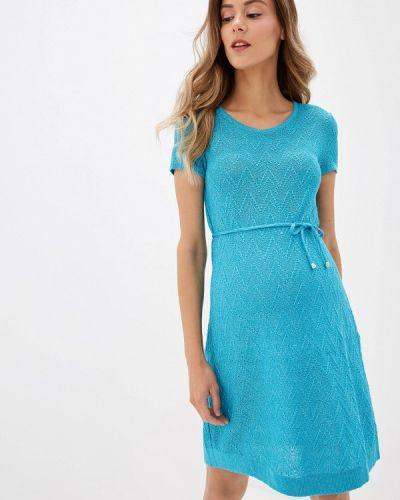 Платье бирюзовый Olesya Zubova