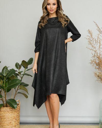 Свободное с рукавами вечернее платье бохо Ellcora