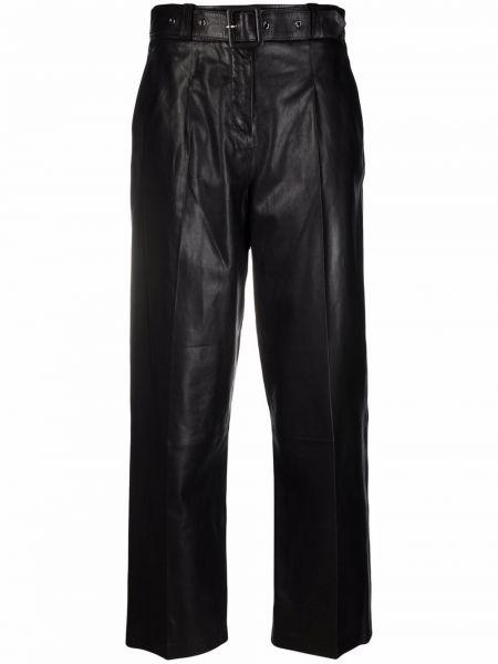 Черные кожаные брюки Arma