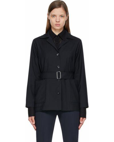 Черная куртка с накладными карманами Max Mara