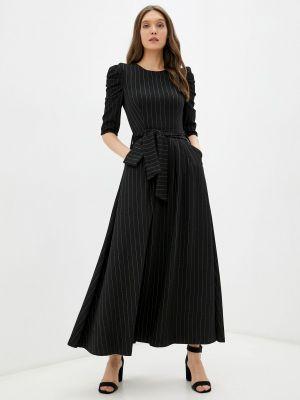 Прямое платье - черное мадам т