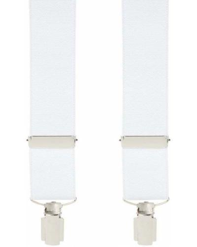 Białe szelki Willen