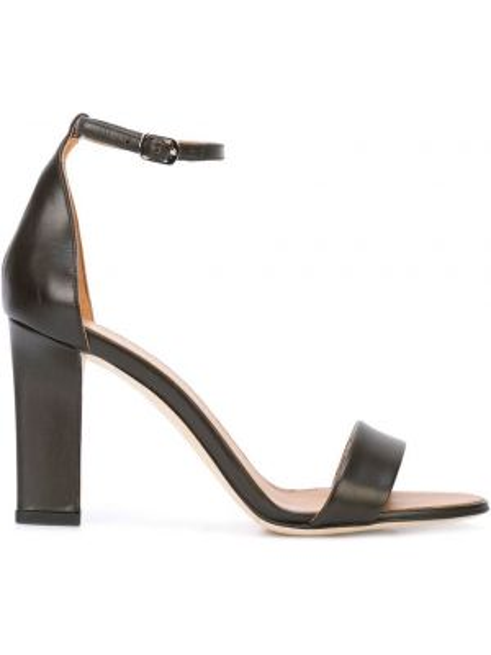 Sandały czarne Victoria Beckham