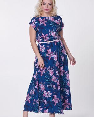 Платье мини в цветочный принт Valentina