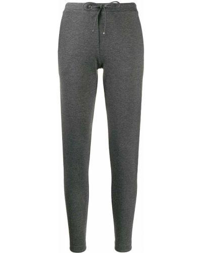 Спортивные брюки с вышивкой стрейч D.exterior