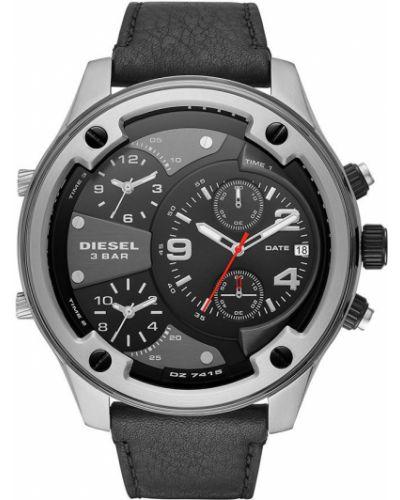 Часы водонепроницаемые универсальный черный Diesel