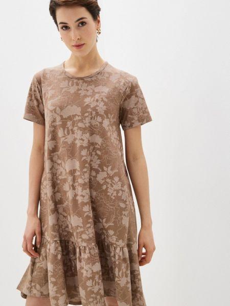 Коричневое платье Griol