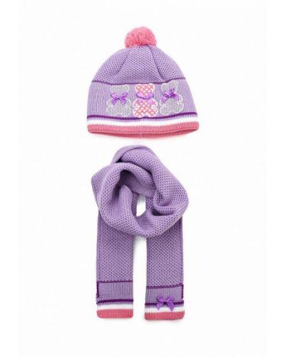 Фиолетовая шапка Maxval