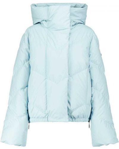 Пуховая куртка - синяя Goldbergh
