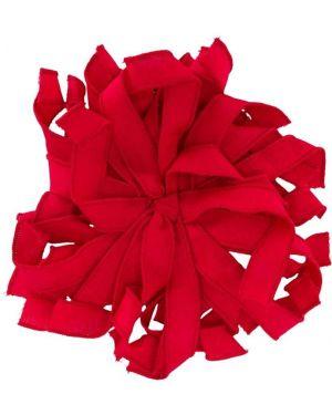 Красная брошь Piccola Ludo