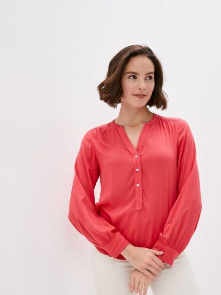 Коралловая блузка с длинным рукавом Marks & Spencer