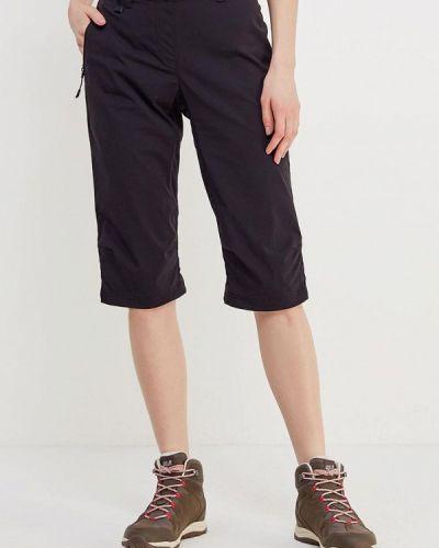 Черные брюки Jack Wolfskin