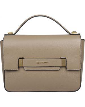 Кожаная сумка - бежевая Coccinelle