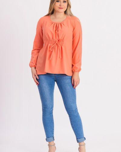 Блузка с длинным рукавом персиковый Lacywear