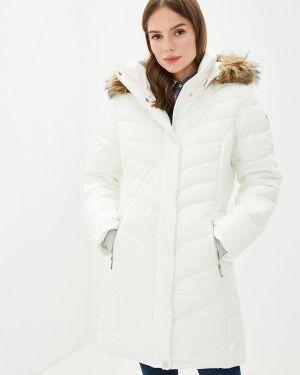 Утепленная куртка осенняя белая Luhta